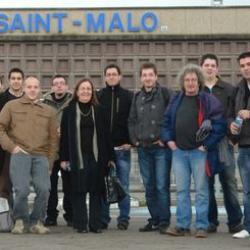 A Birmingham janv 2011 Départ St-Malo