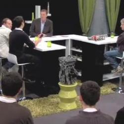 Sur le plateau de TV Rennes 35