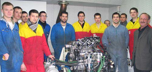 Classe 2010-2011 au banc