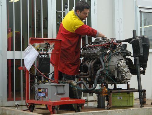 Mise au point moteur Ferrari