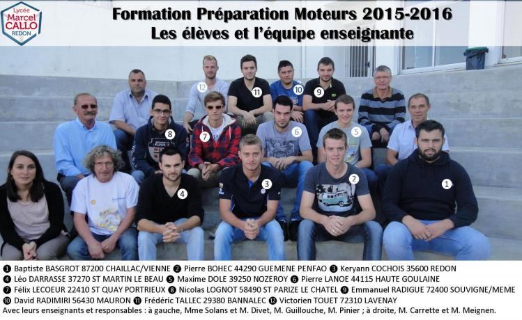 Accueil 2015 photo officielle mcpm promo 2016